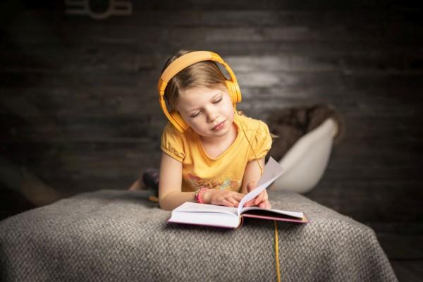 Onanoff Kopfhörer für Kinder   Basic   Gelb
