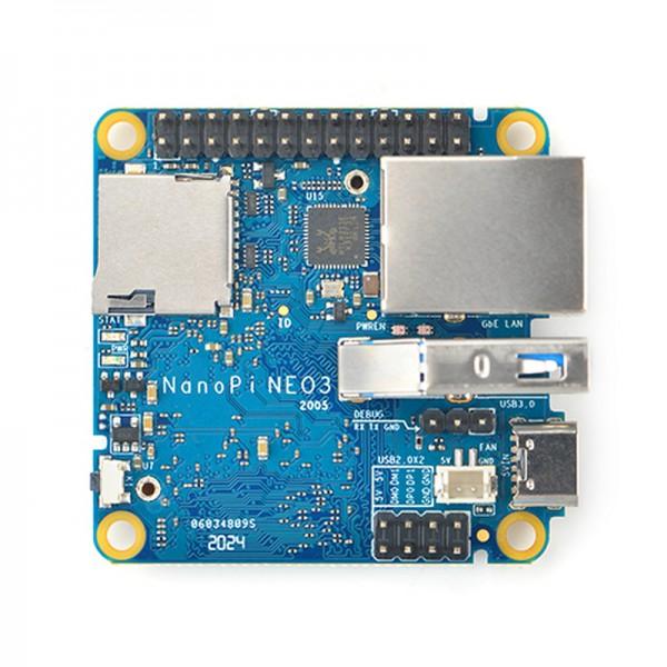 FriendlyELEC NanoPi Neo3 - 1GB DDR4 Ram