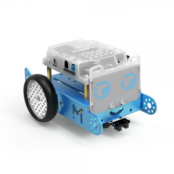 "Makeblock MINT Roboter ""mBot-S"" blau v1.1 (Bluetooth Version Explorer Kit) ab 10 Jahren"