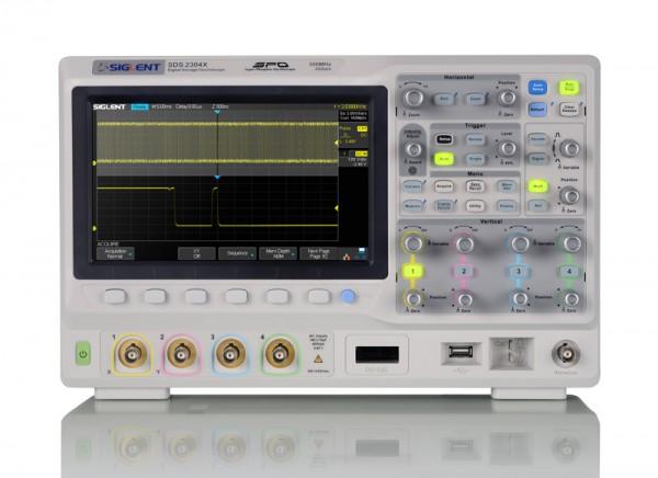 Siglent SDS2354X Plus / 4-Kanal-, 200MHz Oszilloskop, 2GSa/s