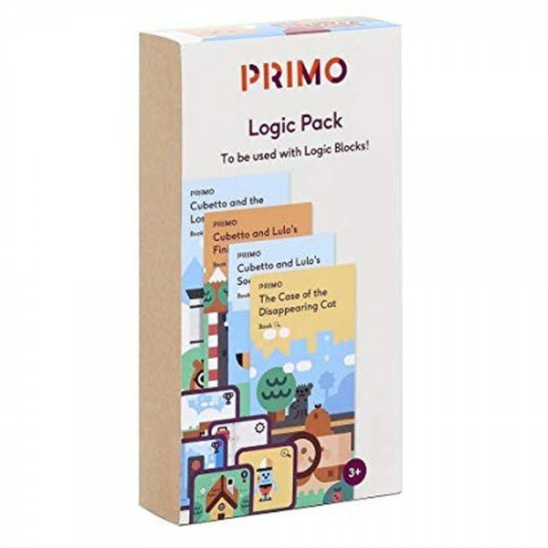 """Cubetto MINT Coding Abenteuer Paket """"Logik"""" ab 3 Jahren (Geeignet für Montessori) - Internationale V"""