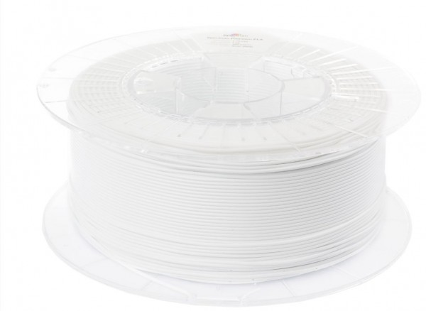 Spectrum 3D Filament / PLA Premium / 1,75mm / Arctic White / Weiß / 1kg
