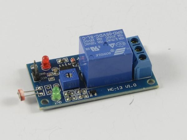 ALLNET 4duino Sensor Lichtsensor LDR mit Relais
