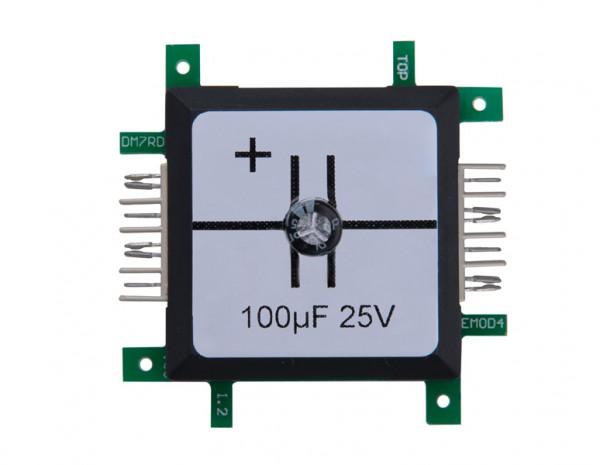 ALLNET Brick'R'knowledge Kondensator 100µF elko 25V