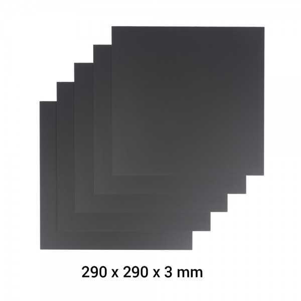 Snapmaker 2.0 Material Acrylglas A350 5er Pack / Frosted Acrylic Sheet