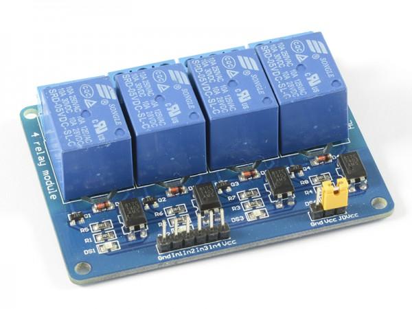 ALLNET 4duino Relais-Modul 4-fach mit Optokoppler