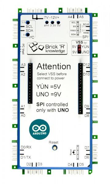 ALLNET Brick'R'knowledge Arduino Brick für UNO und YUN