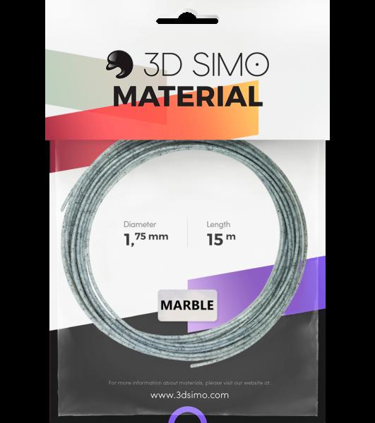 3Dsimo Filament Marmor grau