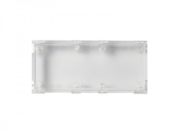 ALLNET Brick'R'knowledge Kunststoffschale 2x1 transparent oben und unten 10er Pack