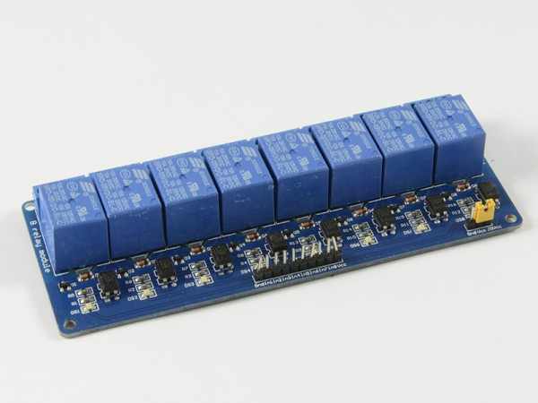 ALLNET 4duino Relais-Modul 8-fach mit Optokoppler