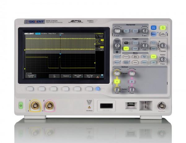 Siglent SDS2072X / 2-Kanal-, 70MHz Oszilloskop, 2GSa/s