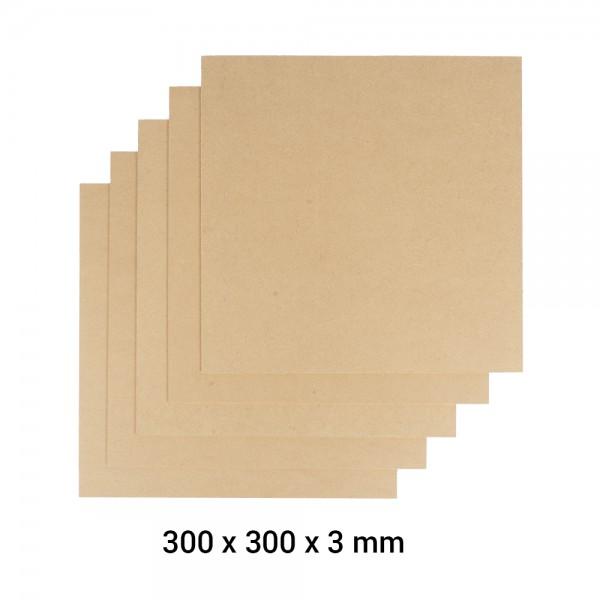 Snapmaker 2.0 Material MDF Holz A350 5er Pack / MDF Wood Sheet