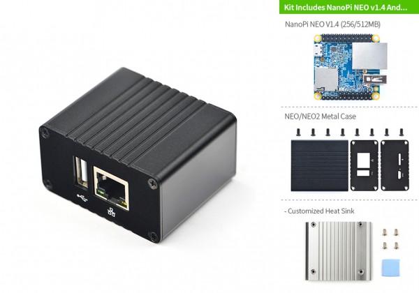 FriendlyELEC NEO Metal Basic Kit 256MB