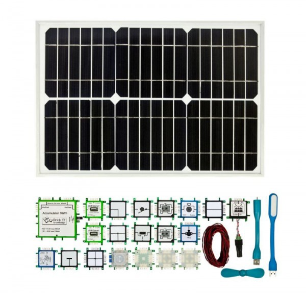 ALLNET Brick'R'knowledge Solar Set ESP