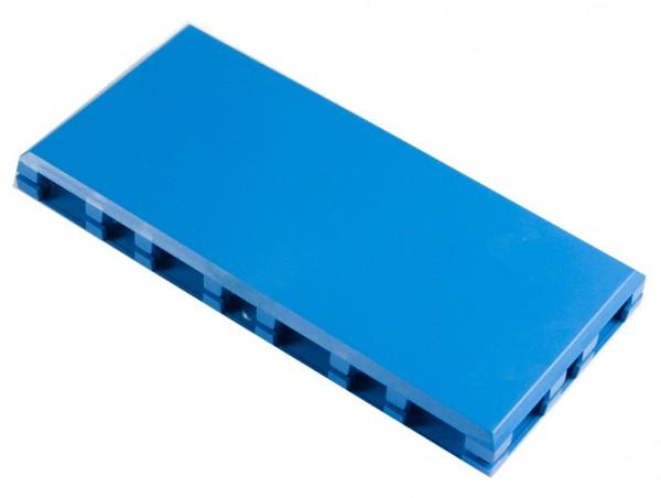 ALLNET Brick'R'knowledge Kunststoffschale 4x2 blau oben und unten