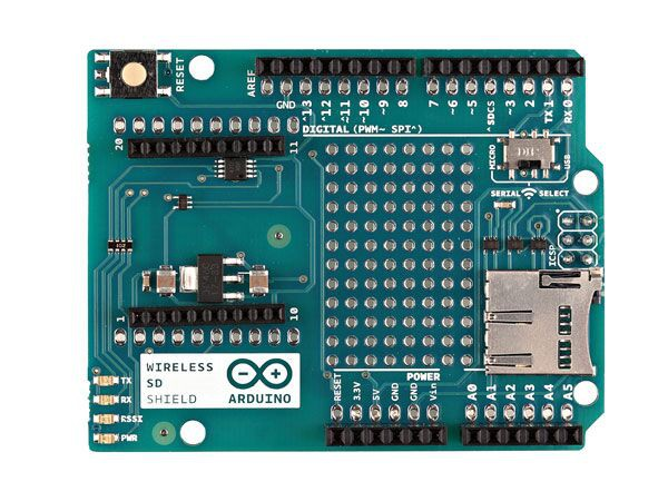 Arduino® Wireless SD Shield