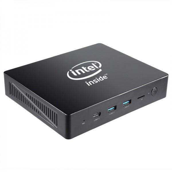 Flepo PC - Mini eta Home Office PC - Intel Quad Core 4X 2200MHz - 4GB Ram/64GB EMMC - ohne BS