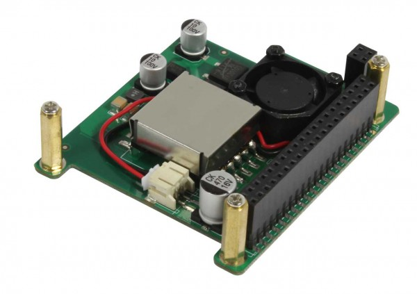Rock Pi 4 zbh. PoE Hat / Shield F4L with Pin-Passthrough