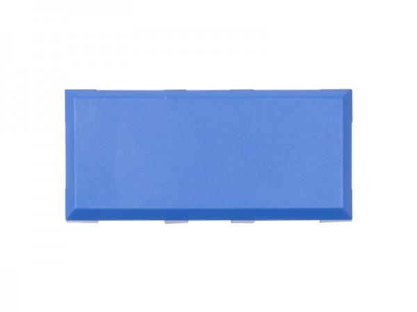 ALLNET Brick'R'knowledge Kunststoffschale 2x1 blau oben und unten 10er Pack