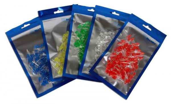 ALLNET LED BigPack - 500 farbige Led's in 5mm