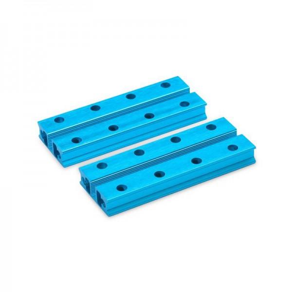 """Makeblock """"Slide Beam 0824-064 Blue (Pair)"""" / 2x Gleitschiene 0824-064 für MINT Roboter"""