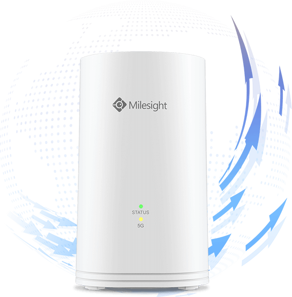 Milesight IoT Ind. Cellular Router UF51 5G GPS PoE PD Wi-Fi CPE