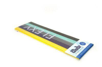 "3Doodler Create+ Filament FLEXY gelb, violett, grau, mint, schwarz 25 Stück ""Retro FLEXY 25 Pack"""