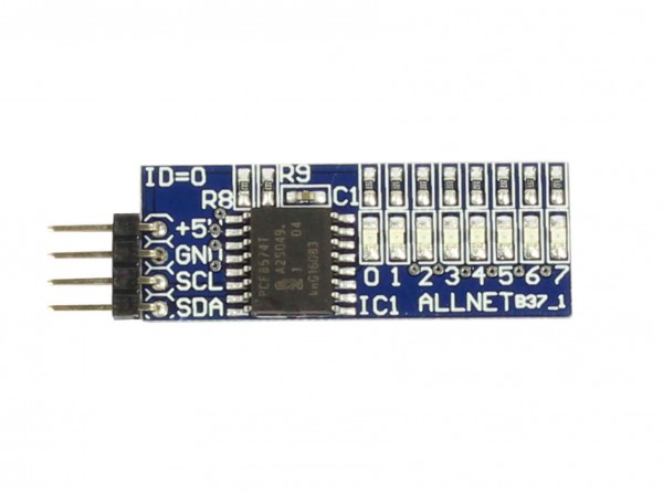 ALLNET 4duino 8 LED Board B37