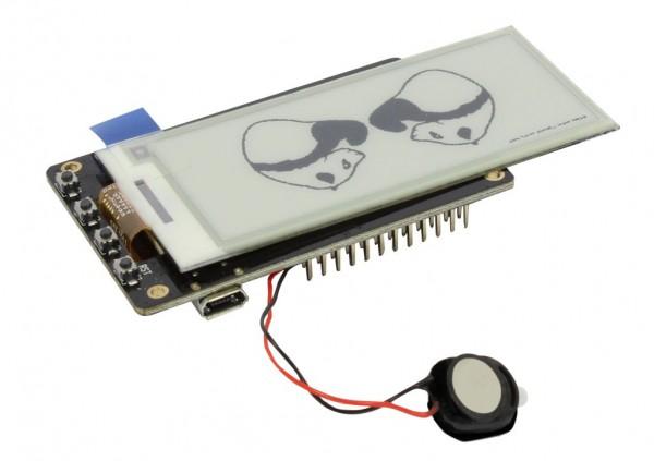"ALLNET 4duino IoT WLAN ePaper/eink/e-ink Display black/white - ESP32 Modul 2,9"" E-Paper ALL-ESP32-EP"