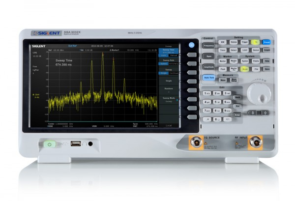 Siglent SSA3032X-PLUS / Spektrum-Analysator 9kHz..3,2GHz