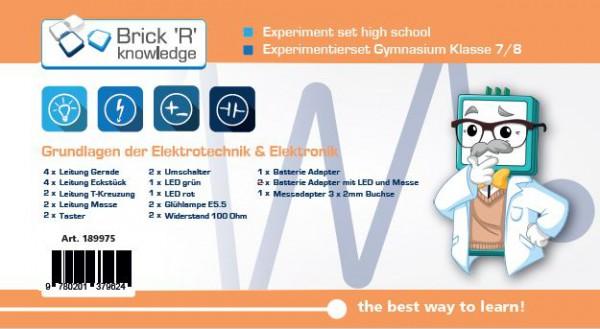 ALLNET Brick'R'knowledge Experimentierset Gymnasium Klasse 7/8