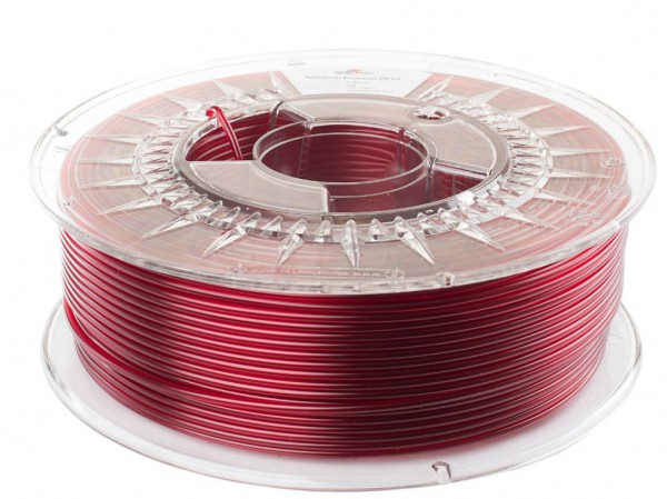 Spectrum 3D Filament PETG 2.85mm TRANSPARENT RED 1kg