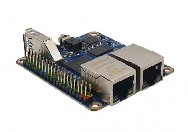 Rock Pi E D4 Dual Ethernet Board RK3328 512MB RAM oh. Wifi/BT