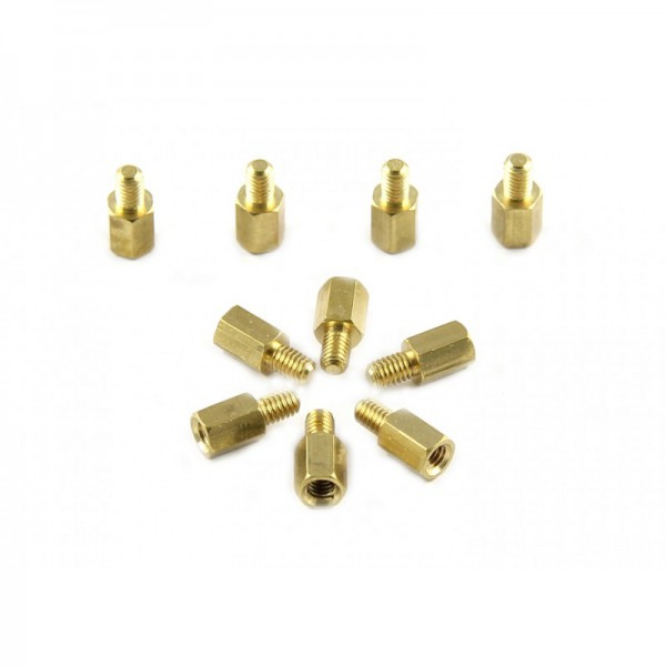 Makeblock-Brass Stud M4*8+6(10-Pack)