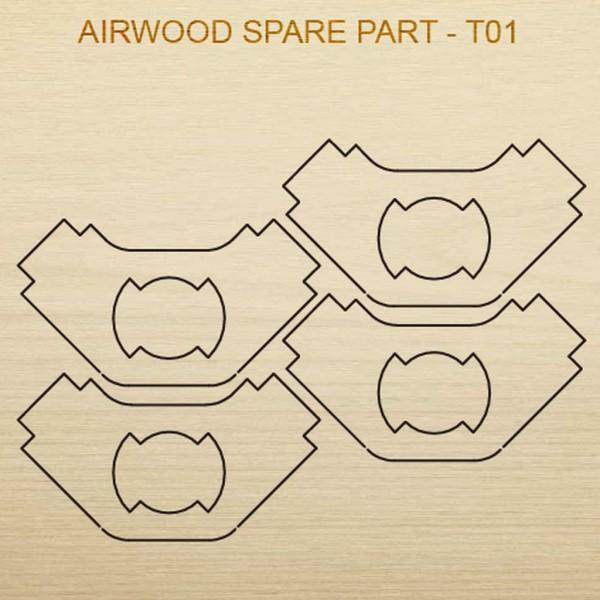 Airwood Holz Ersatzteil T01 / Spare Wood Part T01
