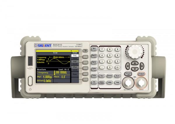 Siglent SDG810 / 1-Kanal, 10MHz Signalgenerator, 125MSa/s