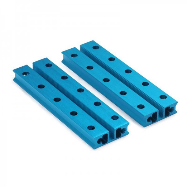 """Makeblock """"Slide Beam 0824-080 Blue (Pair)"""" / 2x Gleitschiene 0824-080 für MINT Roboter"""