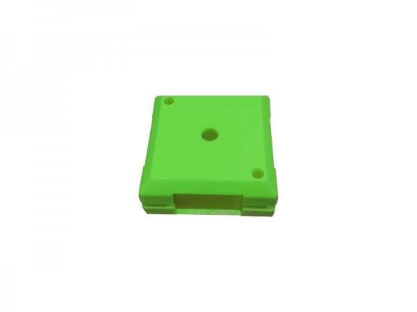 ALLNET Brick'R'knowledge Kunststoffschale 1x1 grün oben und