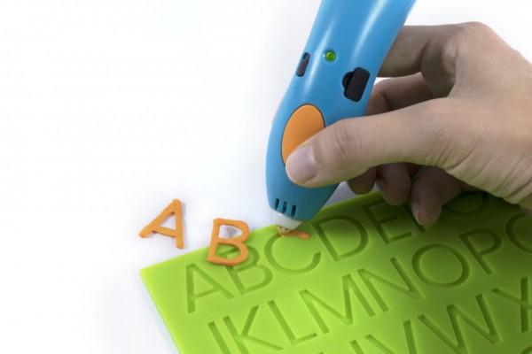 """3Doodler MINT Erweiterung """"Alphabet Learning Doodleblock"""" für Start 3D Stifte"""
