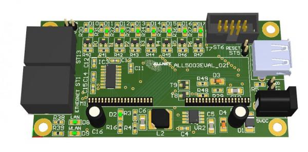 ALLNET MSR CPU ALL5003EVAL Entwicklungs- und Evaluation Kit für ALL5003CPU Board