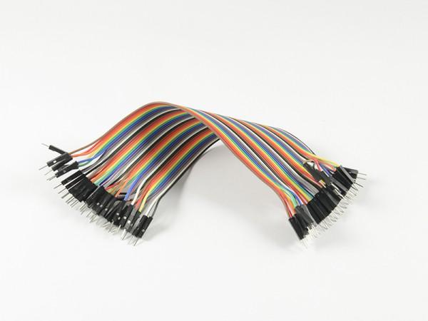 ALLNET 4duino Kabel Dupont 40 PIN 20 Zentimeter Stecker-Stecker