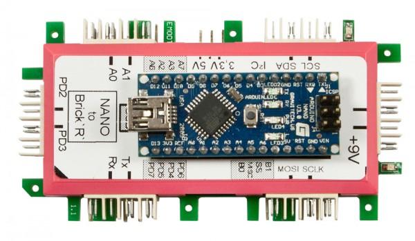 ALLNET Brick'R'knowledge Arduino® Nano Adapter - Mit Arduino®