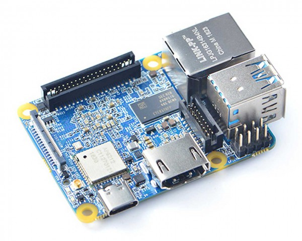 FriendlyELEC NanoPi Neo4 - 1GB Ram Dual-Core A72/ Quadcore A53 64-bit ARM Board RK3399