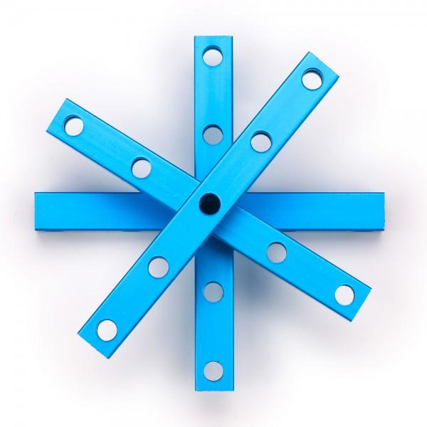 "Makeblock ""Beam 0808-072 Blue (4-Pack)"" / 4x Verbindungsprofil 0808-072 für MINT Roboter"