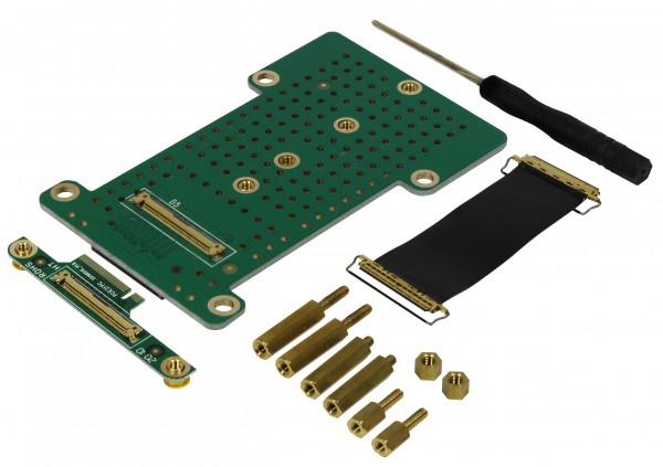Rock Pi 4 zbh. M.2 Extend board v1.6