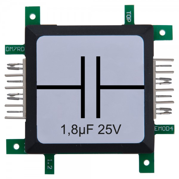 ALLNET Brick'R'knowledge Kondensator 1,8µF 25V