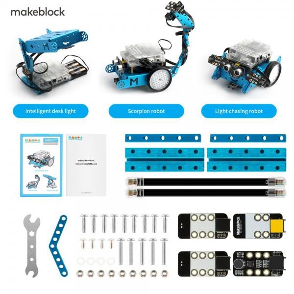 """Makeblock MINT Roboter Erweiterung 3-in-1 """"Interactive Light & Sound"""" (Add-on Paket)"""