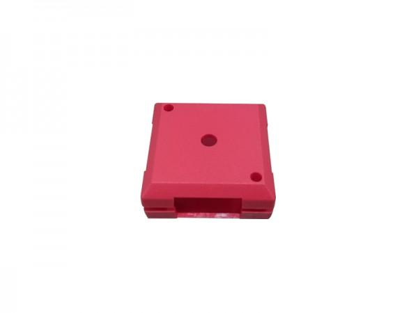 ALLNET Brick'R'knowledge Kunststoffschale 1x1 rot oben und unten 10er Pack