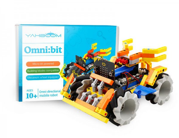 Yahboom omni:bit Building Block Pack für micro:bit (ohne micro:bit Board)
