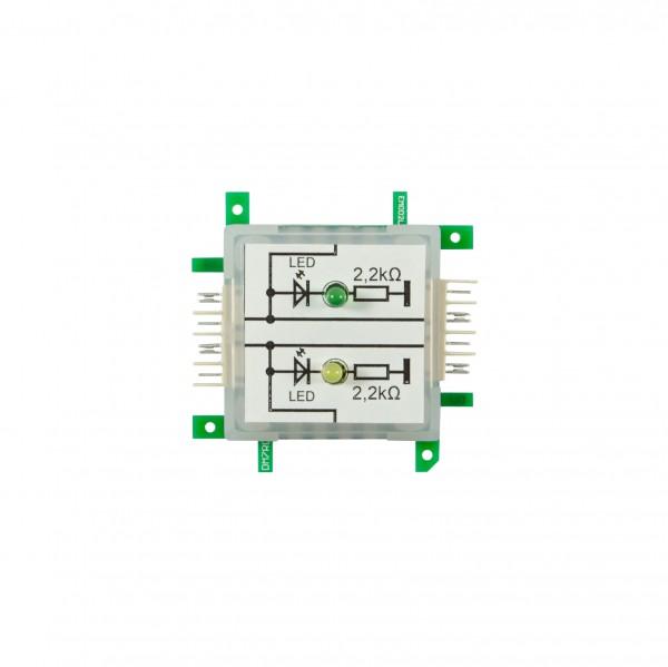 ALLNET Brick'R'knowledge Dual GPIO-Monitoring LED 3mm - mit Masse